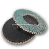 鋼鉄のためのT27タイプR 75mmの研摩の紙やすりで磨く磨く粉砕の折り返しディスク