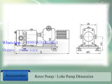 "衛生2 ""高いViscosity LiquidのためのRotary Lobe Pump"