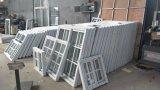 Groß schiebendes Fenster der Zubehör-preiswertes Preis-UPVC