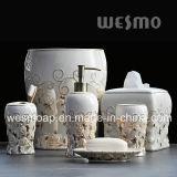 金ローズの磁器の浴室のアクセサリ(WBC0451A)