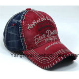 Enzima Stone Wash Denim Distressed Fashion Sport Baseball Cap