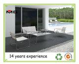 Muebles de Exterior de metal/ Jardín Sofá con bastidor de acero inoxidable