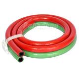 Diferentes tamaños de azul y rojo doble tubo de PVC de soldadura