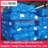 Bâche de protection réutilisable de tissu de PE de vente en gros bleue d'industrie