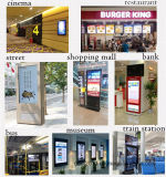 visualizzazione trasparente su ordinazione dell'affissione a cristalli liquidi di pubblicità di schermo dell'affissione a cristalli liquidi 12 '' - 46 '' Media Player