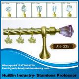 Hotsale 내식성 꼬이는 커튼 폴란드 또는 로드 커튼 관 커튼 이음쇠