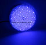 水中LEDはプール12Vの同価56のPiscina RGBの樹脂の平たい箱をつける