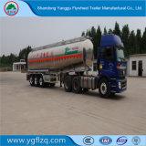 De Semi Aanhangwagen van de Tank van /Liquid /Petrol van de Tanker van de Brandstof van de Legering van het aluminium met 3 Assen