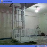 شاقوليّ هيدروليّة [غيد ريل] مصعد مستودع شحن مصعد