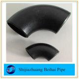 Углеродистая сталь трубный фитинг 90 Lr колено A234wpb/A420 wpl6 B16.9