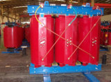 Transformateur de distribution à trois phases à base de résine sèche