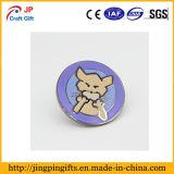 Alta qualidade personalizada Bonitinha Dog Esmalte Animal Monograma Pin