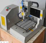 Router de madeira do CNC do metal do MDF da madeira compensada com linha central 4 giratória