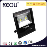 Ce/RoHS IP65 impermeabilizan la luz de inundación de aluminio del LED