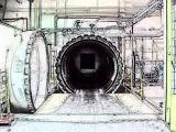 直径3.5*8mガラスのオートクレーブ装置