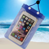 Poche imperméable à l'eau de PVC, poche imperméable à l'eau de téléphone, sac de plage