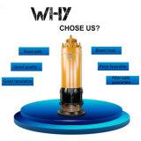 Wqn 시리즈 자동적인 교반 잠수할 수 있는 하수 오물 펌프