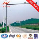 Q345 4m / 6m оцинкованных светофора полюс доступные настройки сигнала