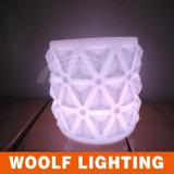 白熱LEDの家具、棒椅子、屋外の家具、