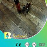 Revêtement de sol en stratifié à main gratté à base d'érable en vinyle et en vinyle de 12,3 mm