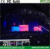 Visualizzazione di LED pieghevole della bandiera P6 per la pubblicità esterna dell'interno (formato di schermo personalizzato)