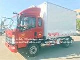4X2 HOWO Réfrigérateur van de refroidissement chambre froide Mobile camion réfrigéré pour la vente