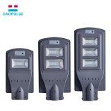 높은 루멘 운동 측정기 IP65는 램프 옥외 지능적인 한세트 통합 태양 가로등 LED를 방수 처리한다