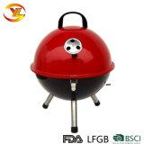 14.5 '' fornitori a forma di della Cina della griglia del BBQ del carbone di legna di gioco del calcio di figura rotonda