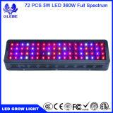 Glebe 100W/200W/300W/600W LED de chips de doble luz crecer Specturm completa luz crecer las plantas de interior hidropónicos de efecto invernadero de verduras y flores.