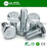 Galvanisierte verzinkte kohlenstoffarmer Stahl-Hex Hexagon-Kopf-Schraube