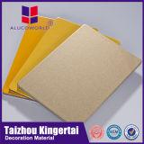 Prix en aluminium modernes de feuille de revêtement de matériaux de construction de feuille de granit d'Alucoworld