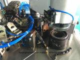 Máquina para hacer punto de los calcetines automáticos con conexiones y el dispositivo de torneado