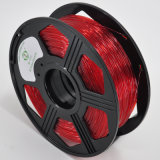 Bom filamento 1.75mm natural flexível de bobinamento da impressão 3D
