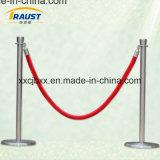 Cuerda del puntal del terciopelo, barreras de la cuerda, línea puntal de la coleta