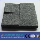 Écran antibruit à haute densité de fibre de polyester de fibre de verre