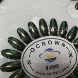 Poudre Ocrown88809 d'art de clou d'effet de miroir de caméléon de colorant de perle