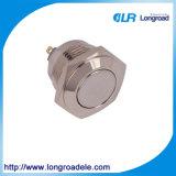 De Drukknop Switch/HS16f-10jn, 19mm van het metaal, (Ce, CCC, RoHS)