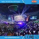 P5 pleine couleur Affichage LED à l'intérieur de location pour l'étape Contexte