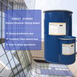 Puate d'étanchéité glaçante structurale de silicones de deux composants avec la qualité