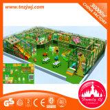 Terrain de jeux doux matériel de PVC de labyrinthe d'intérieur de cour de jeu
