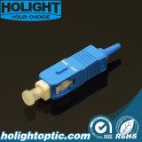 PC 0.9mm van Sc van de Schakelaar van de vezel Optische Blauw Sm