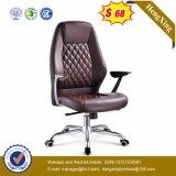 Chaise de bureau en cuir à dossier haut en cuir (HX-NH095)