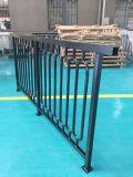 La polvere nera ha ricoperto la rete fissa d'acciaio galvanizzata qualità per traffico ed il balcone