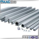 Ranura de aluminio sacada estándar euro de T