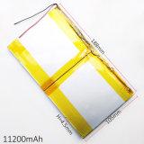 3.7V 11200mAh 45188105 pour l'ordinateur portatif de tablette PC d'e-book