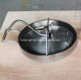 Cubierta sanitaria de Manway del recipiente del reactor del acero inoxidable