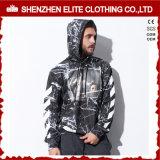 Zoll gestickter Daumen durchlöchert 80 Polyester Hoodies (ELTHSJ-1180) der Baumwolle20