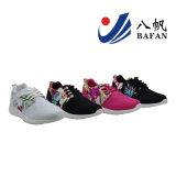 2016 het Nieuwe Hete Netwerk van de Verkoop en de Hogere Injectie van de Stof van de Bloem Dame Sport Shoe