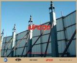 Système de vissage hydraulique utilisé pour la construction de réservoirs