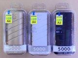 Personalizzare la Banca mobile portatile di potere 5000mAh dello Litio-Ione